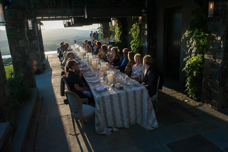 Founders Dinner at the Stull Residence