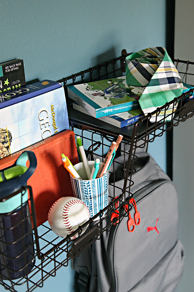 Teen Boy Bedroom Organization