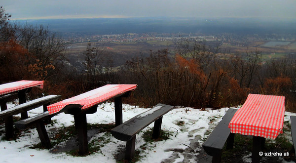 Magyarországi Forrástúrák a Pilis-Visegrádi-hegységben Téli fél 8-as