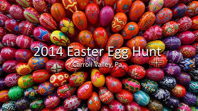 Carroll Valley Egg Hunt 2014