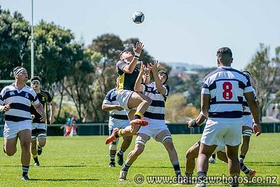 3 October Wellington U18s (10) v Auckland U18s (40)