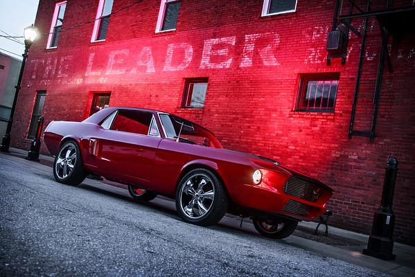 Red - Custom 1967 Mustang GTA