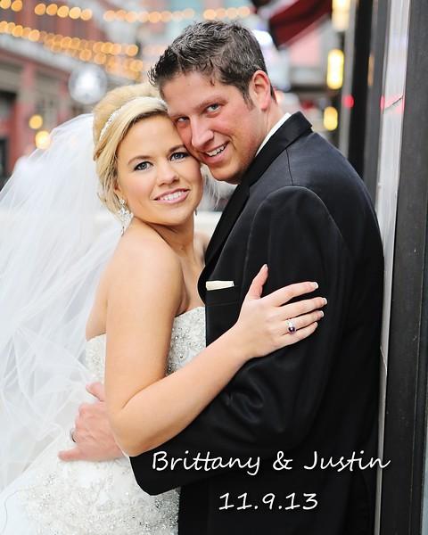 Brittany & Justin 8x10 Wedding Album