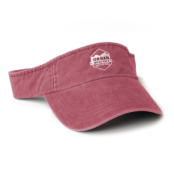 Organ Mountain Outfitters - Outdoor Apparel - Hat - Classic Visor - Vintage Red.jpg