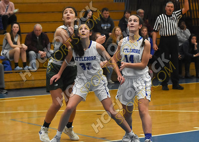 Attleboro - Mansfield Girls Basketball 12-31-19