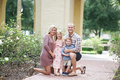 Lindsay and Kelly Family Photo Session Oct 2018 Rollins College
