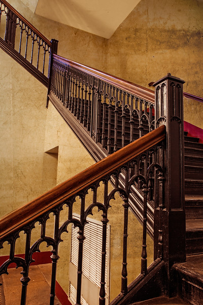 Reading Room Stairs