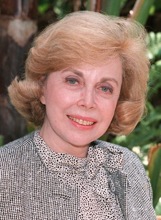 . Dr. Joyce Brothers, a New York-based psychologist is shown in this 1987 photo.  (AP Photo)