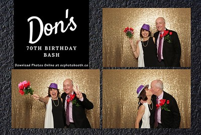 Don's 70th Birthday Bash