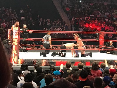 Monday Night Raw Little Rock