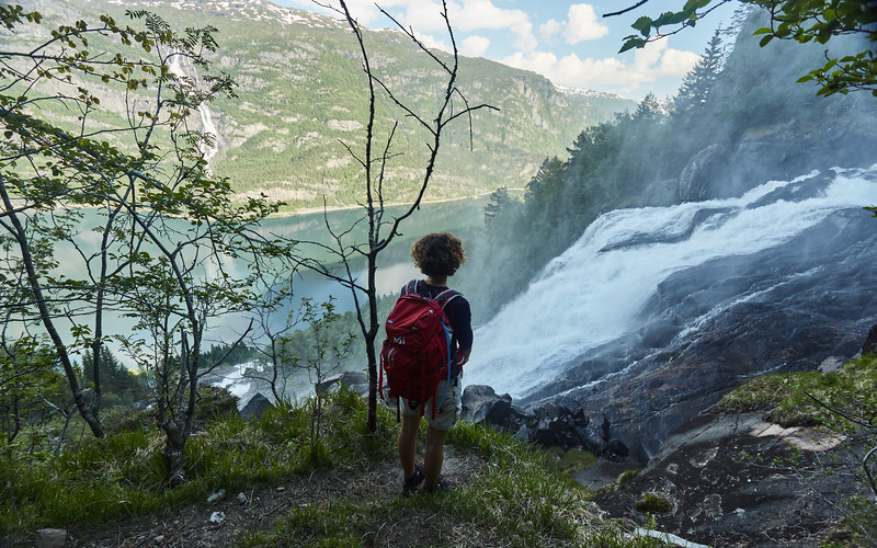 Strondsfossen, Norway