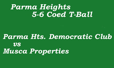 170612 Parma Heights Coed 5-6 T-Ball Field #1