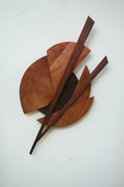 Wall hung Wood sculptures