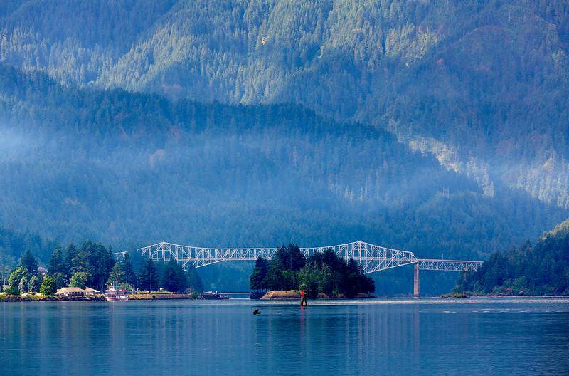 Bridge of the Gods, Columbia River Gorge