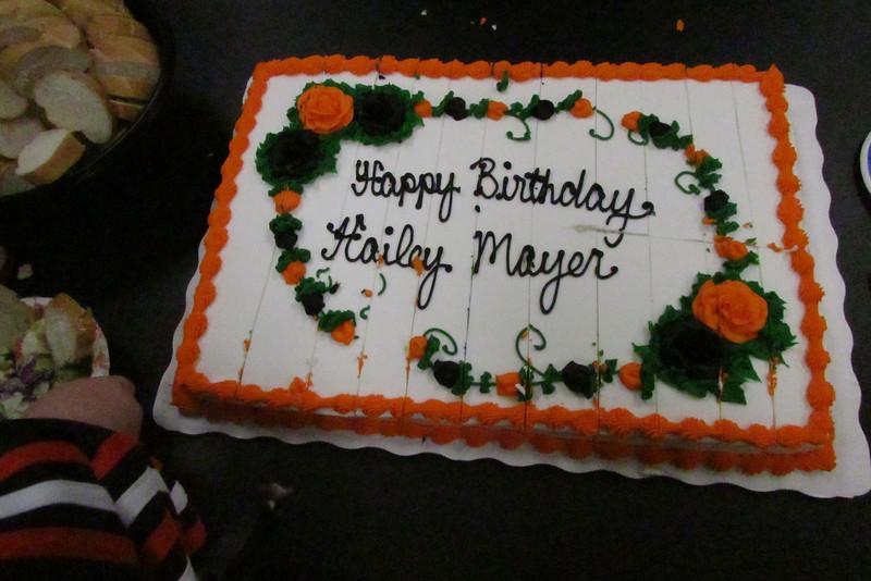 Happy Birthday Hailey Mayer!