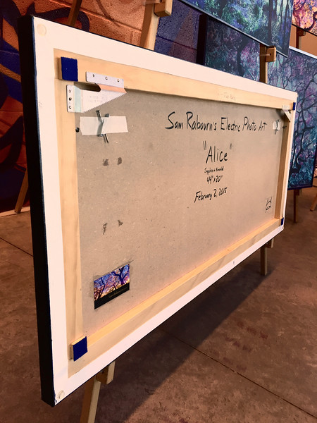 "$360...44""x 20""...80_2245 Sapphire (backside)...canvas on masonite"