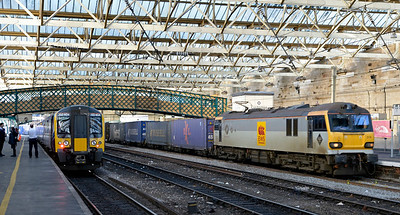 Carlisle trains, December 2014