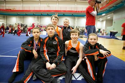 Boys Team at 2014 Region IV Championship