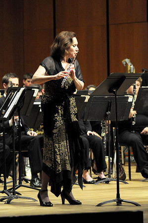 March 13, 2012 Wind Ensemble with guest composer Joel Puckett and Soloist Katherine Kemler