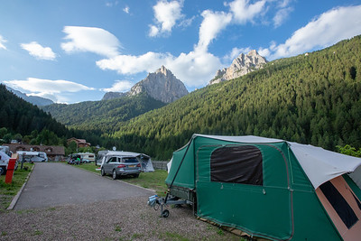 Camping i Europa, 28.6-28.7.2018