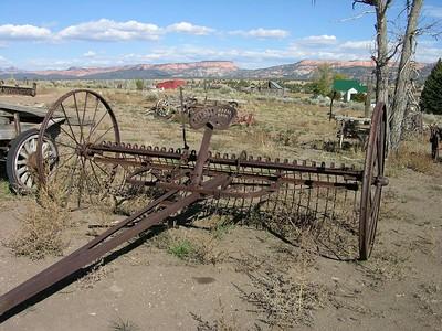 Utah - Old farm machinery