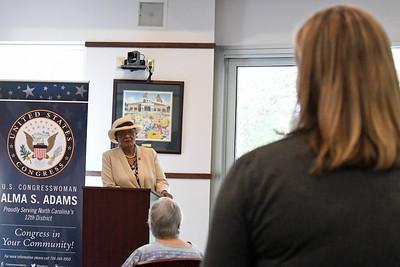 Congresswoman Alma Adams at Davidson Town Hall