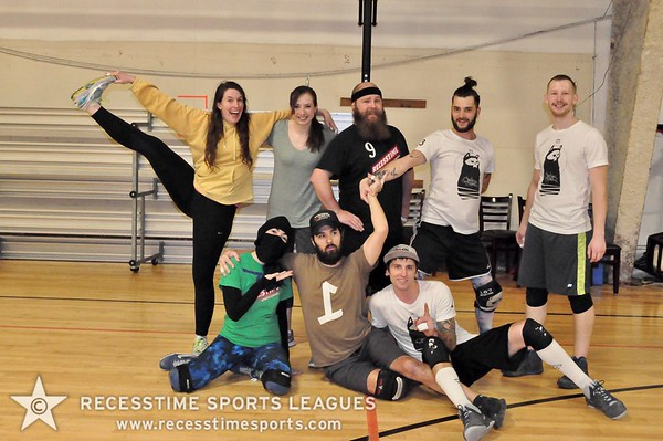 Thursday Night Dodgeball Winter League 2017