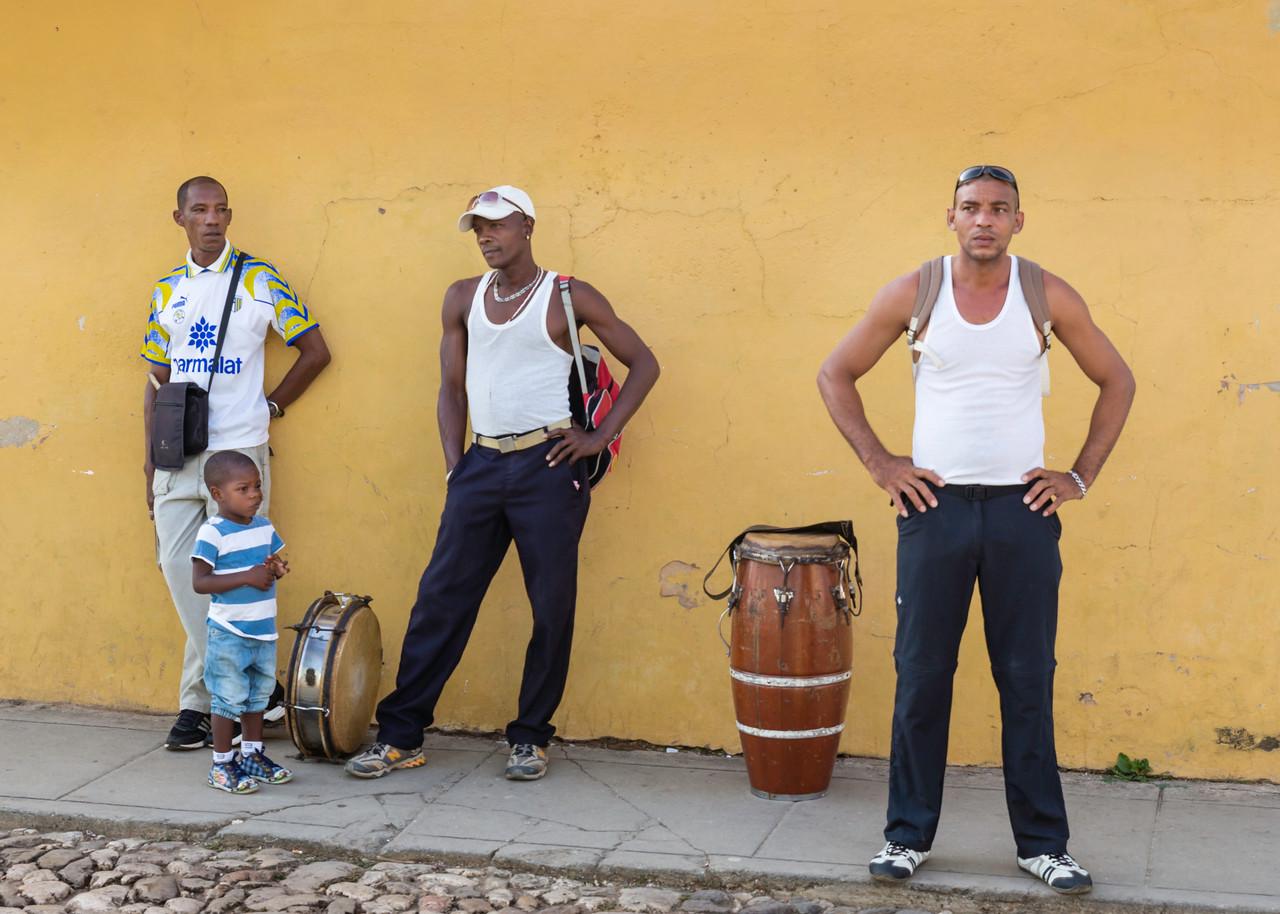 Trinidad Cuba Musicians