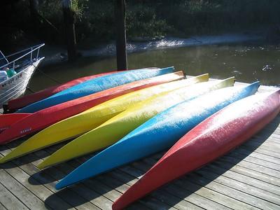 Columbia River Elderhostel Kayaking Part 1