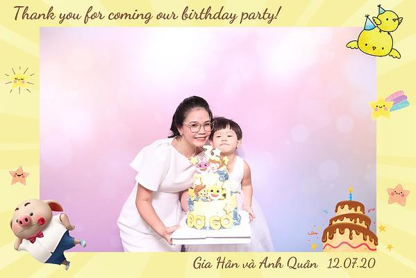 Event - Gia Han & Anh Quan's Birthday