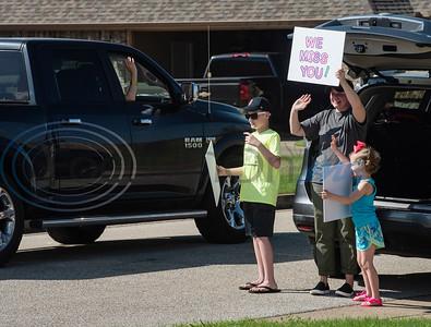Bullard Teachers Drive Through Town by Sarah A. Miller