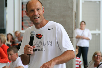 OSU BBQ Lunch with Mike Riley