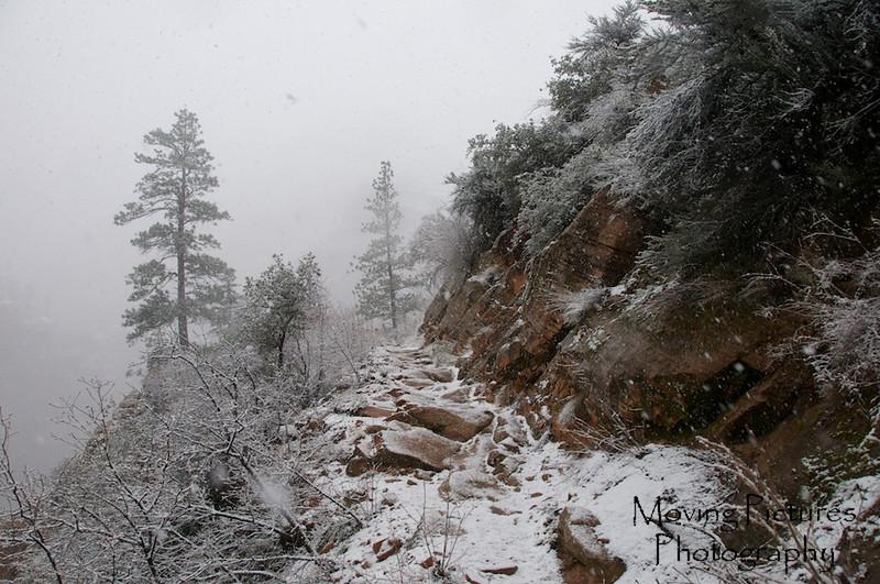 Zion National Park - Hidden Canyon Trail