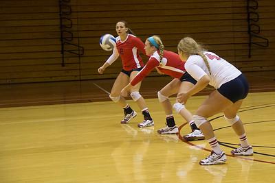 RMU Women's Volleyball Game 1