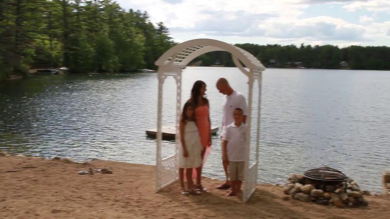 Jenn & John renewal ceremony