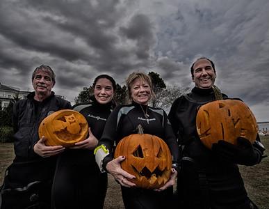 Stonington Point Divers Pumpkin Carving Contest