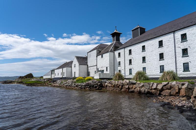 Laphroaig Distillery on Islay