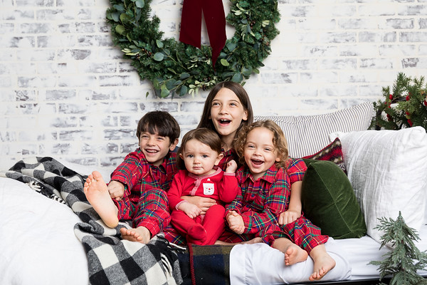 Christmas Pajama Photos