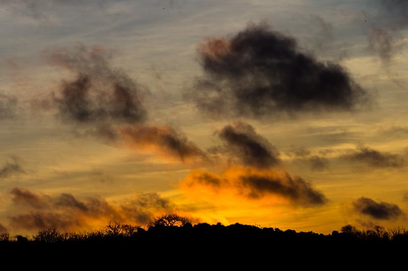 Sunrise over Española Island