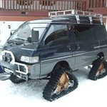 MItsubishi Delica 4X4, nothing DelicaTED about it..