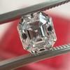 2.39ct Antique Asscher/Square Emerald Cut Diamond, GIA D/IF 32