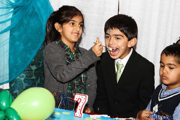 Arjun's 7th Birthday