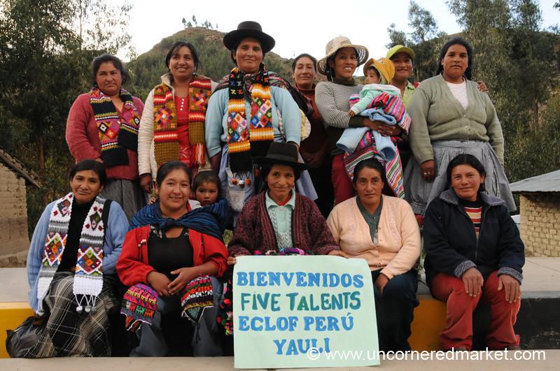 Proud Women of Yauli, Peru