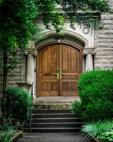 Doorway, Old Louisville Victorian Home - Kentucky