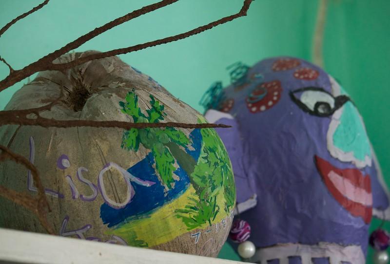 Swim camp kids' art