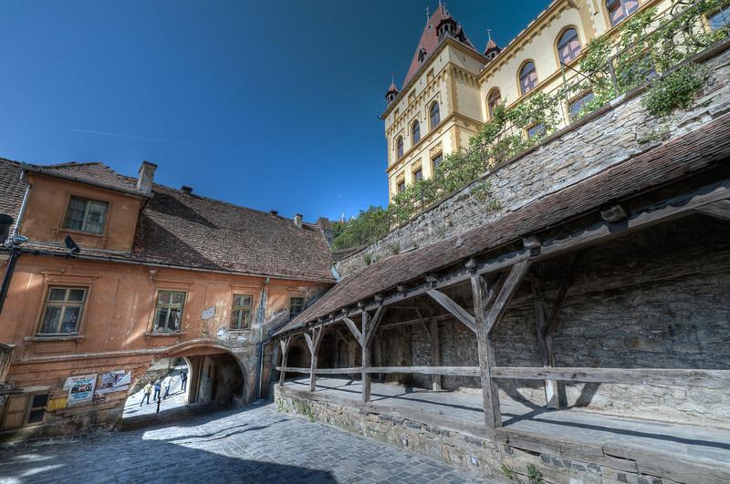 Cetatea Sighişoara in Romania