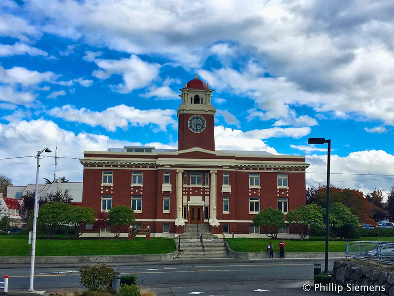 Courthouse in Port Angeles