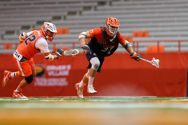 Syracuse Orange Varsity Lacrosse v. Alumni (Mens) 9-24-16