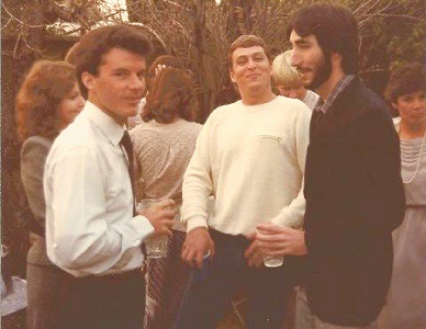 "Kent Matranga at Michael Skinner's ""Celebration of Life"" - January 18, 1984"