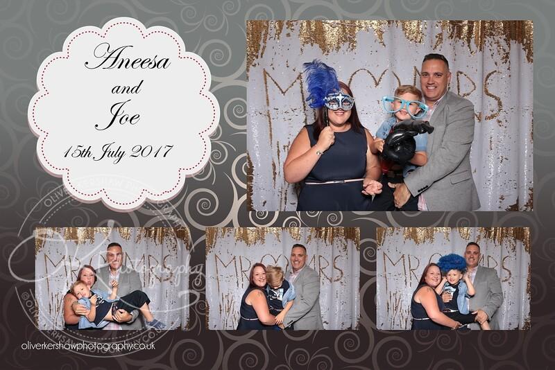 Photo Booth - Aneesa & Joe